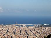 Ferienwohnungen: Blick über Barcelona