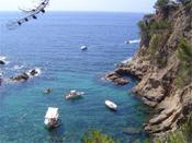 Costa Brava Küste, Meer und Boote