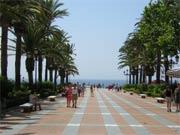 Nerja Promenade, Andalusien