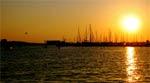 Sonnenuntergang Empuriabrava, Costa Brava